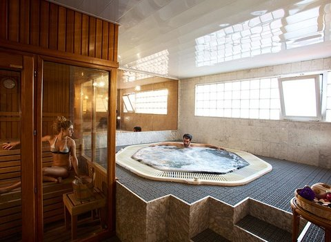 Spa to relax with friends or couple equipped with Finnish ...